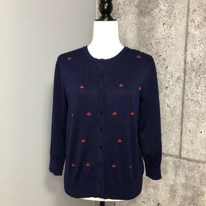 🆕 Cable & Gauge Watermelon Cardigan Sweater